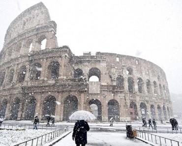 Architecture in Snow