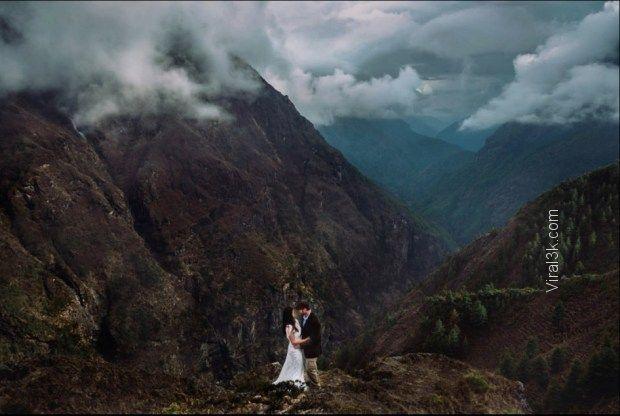 Himalayas, Nepal by Charleton Churchill