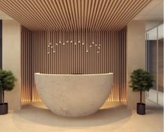 Reception Desk & Loby Design